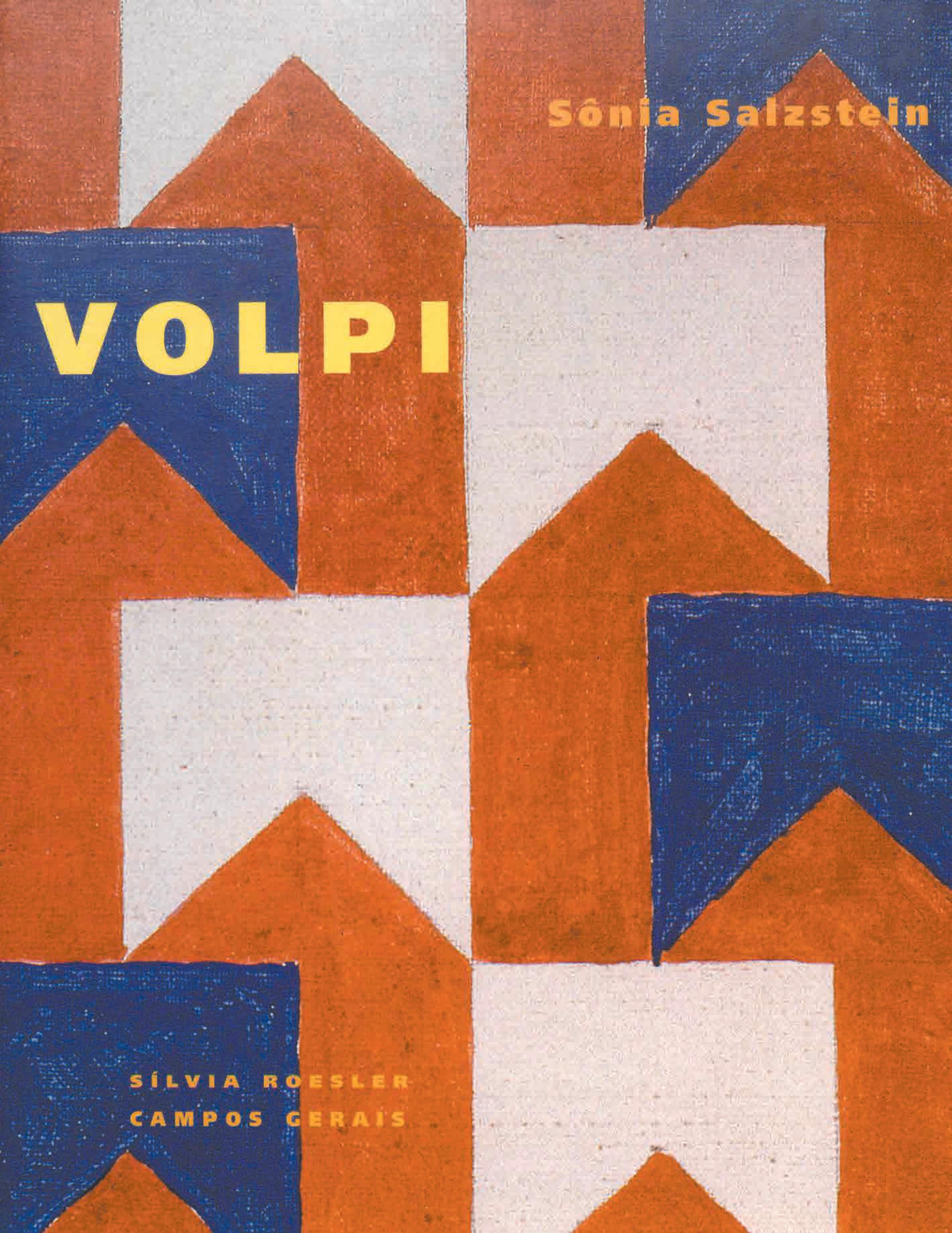 Capa do livro Volpi