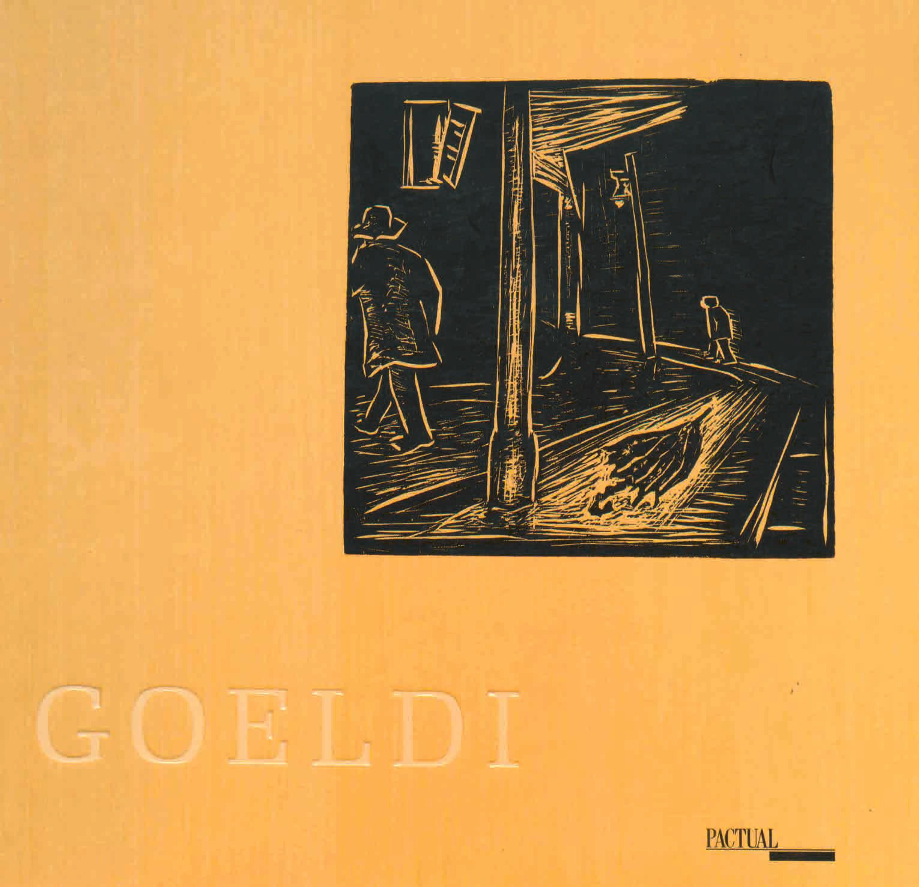 Capa do livro Goeldi