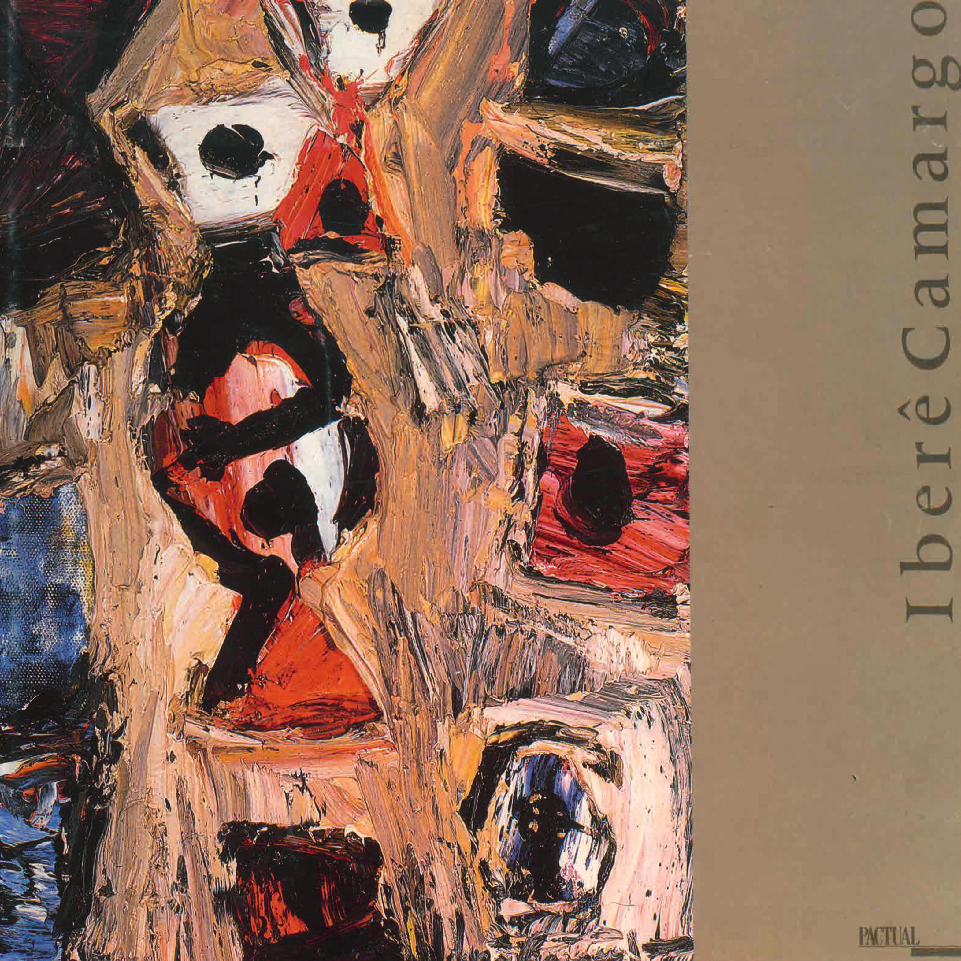 Capa do livro Iberê Camargo