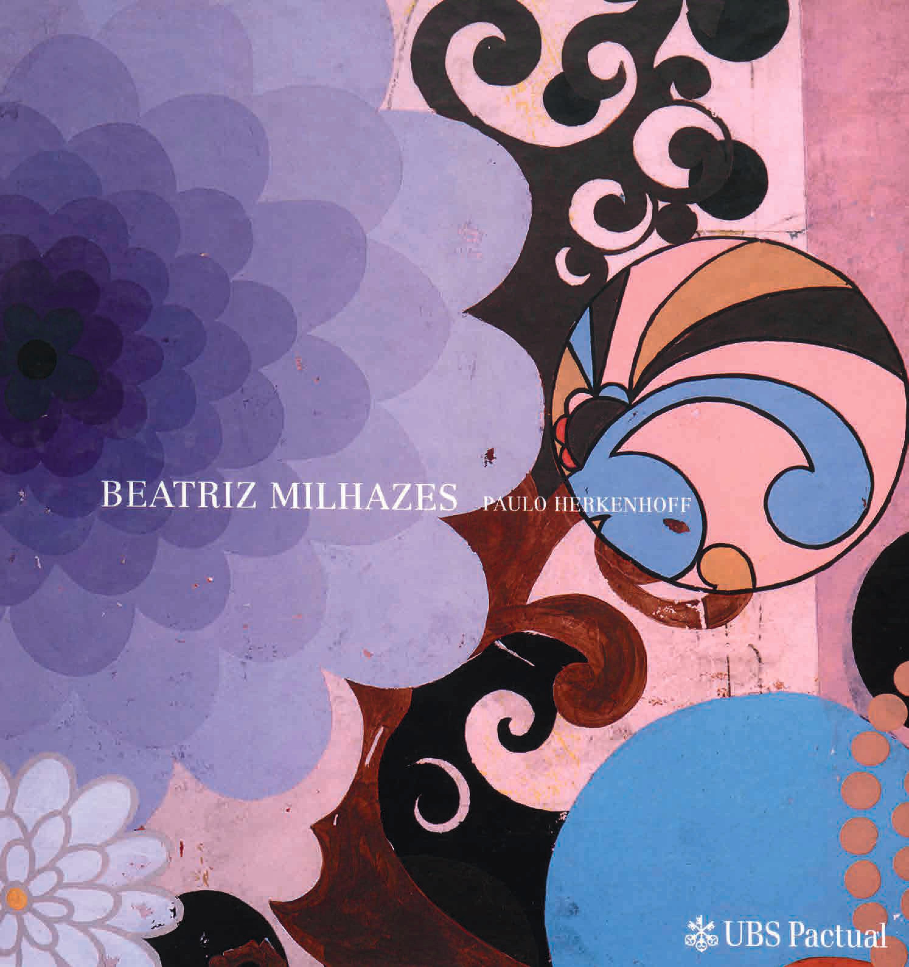 Capa do livro Beatriz Milhazes