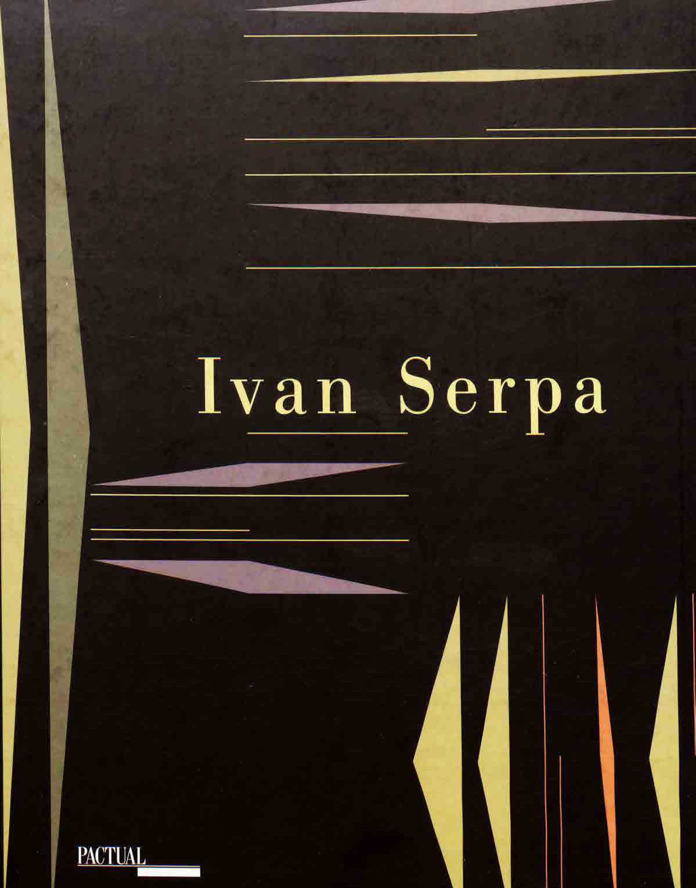 Capa do livro Ivan Serpa