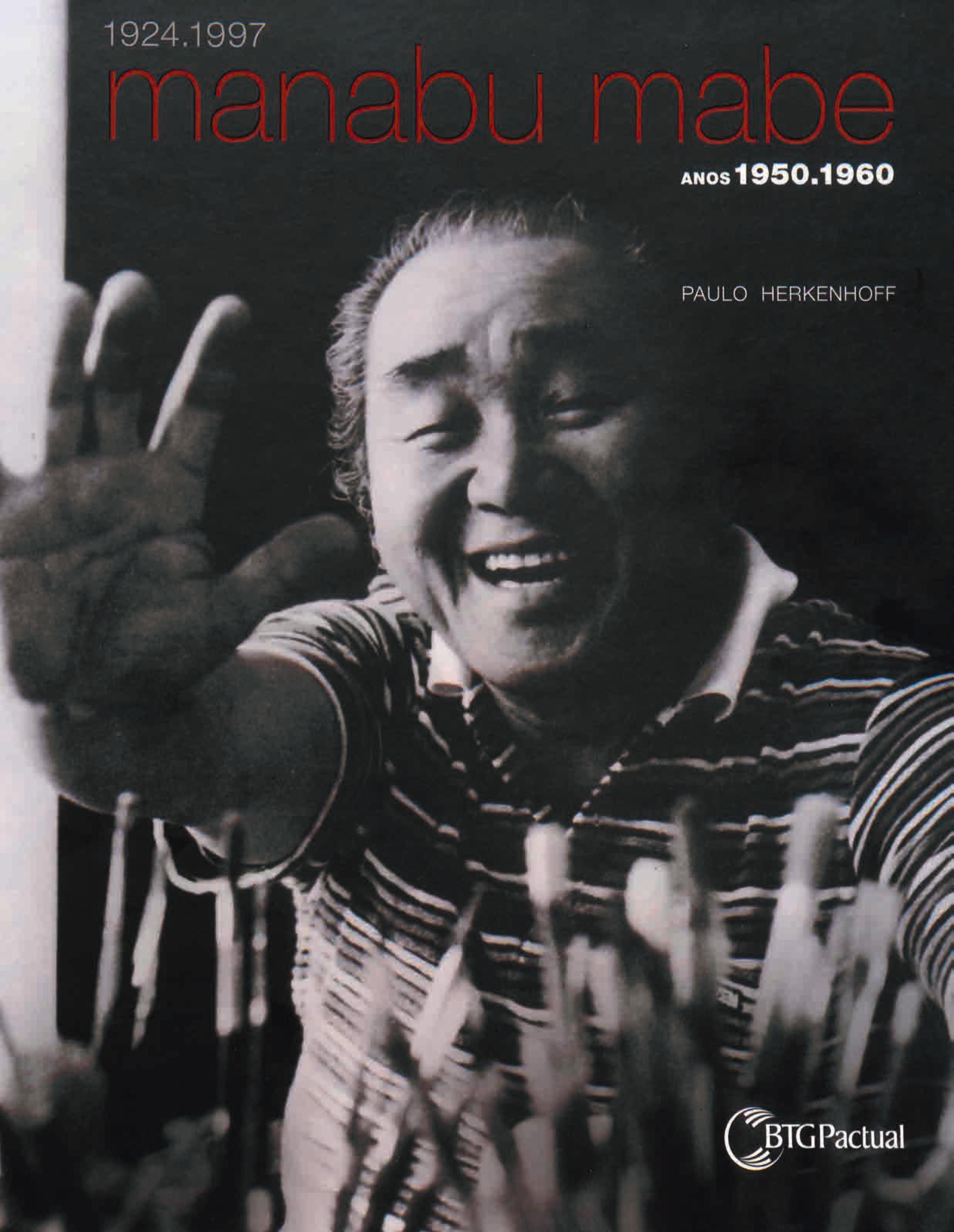 Capa do livro Manabu Mabe