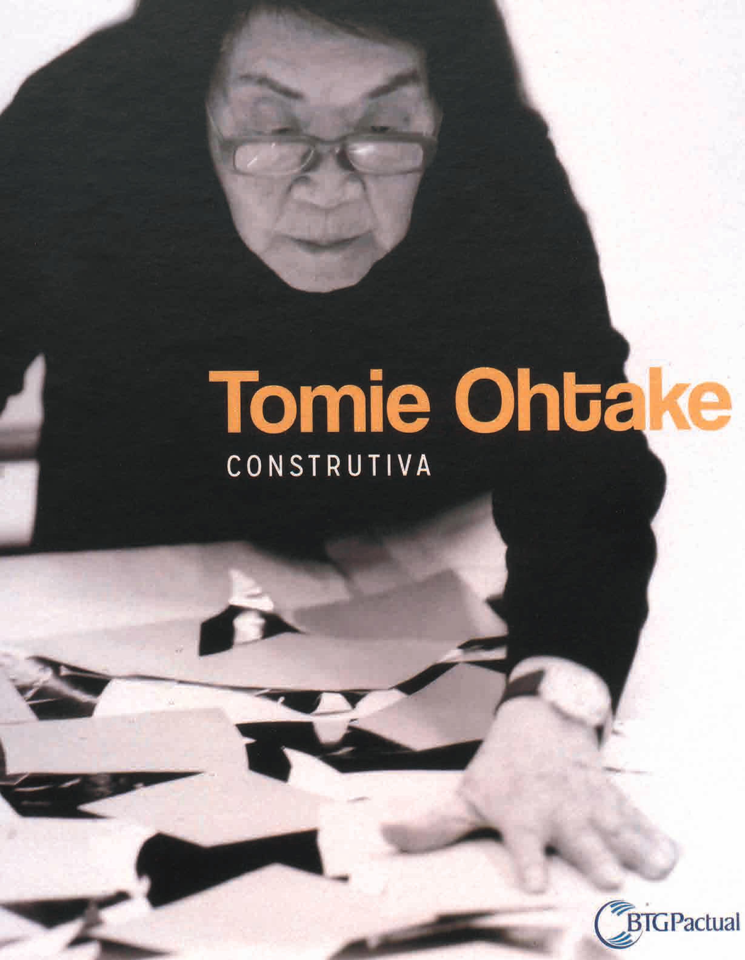 Capa do livro Tomie Ohtake